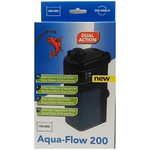 internal power filters aquarium fish tank Aquaflow 200 lt