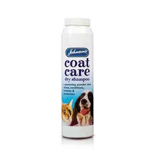 Johnson's coat care dry shampoo 85g