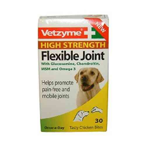 Vetzyme flexible joint tablets high strength 30 tablets