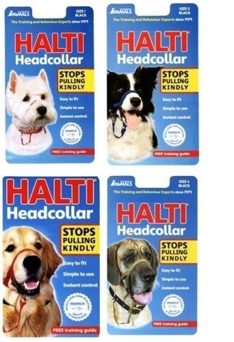 Company of animals halti black sizes 0-1-2-3-4-5.