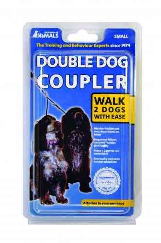 Company of animals double dog coupler size small