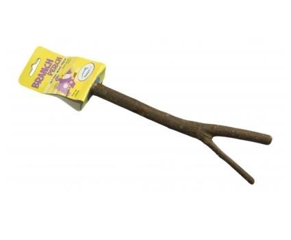 Happy pets branch perch wooden medium