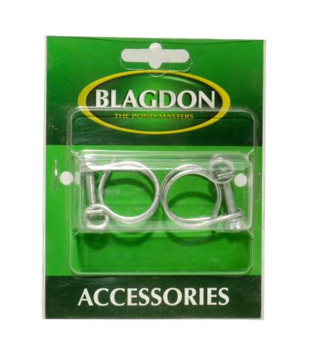 "Blagdon Double Wire Hose Clip 0.25"" 2pk"