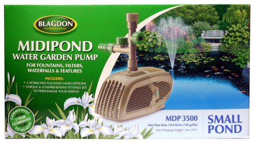 Blagdon Midipond 3500 Pump
