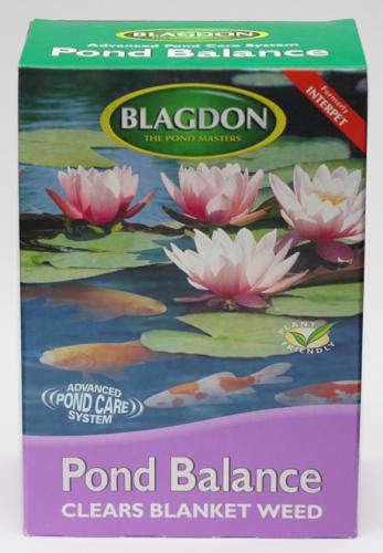 Blagdon Pond Balance Standard