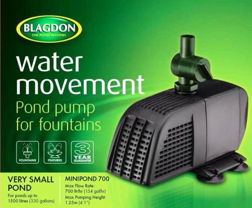 Blagdon Minipond 700 Pump