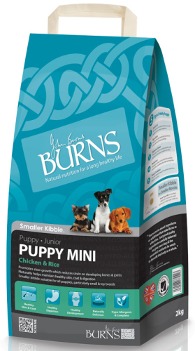 Burns Mini Puppy Chicken & Rice 2kg