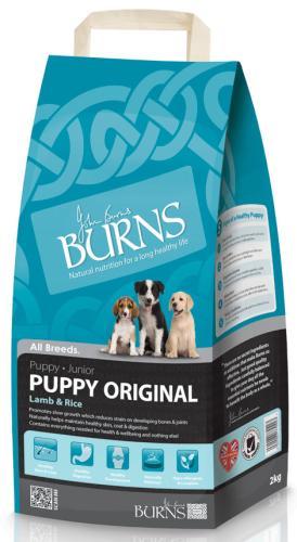 Burn puppy lamb and rice 2kg