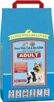 James wellbeloved Fish adult dog food  2kg