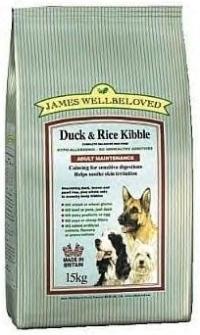 James wellbeloved  Duck adult dog food  2kg