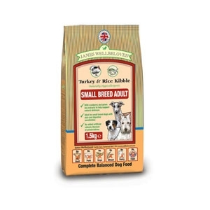 James wellbeloved Turkey and Rice adult small breed  1.5kg