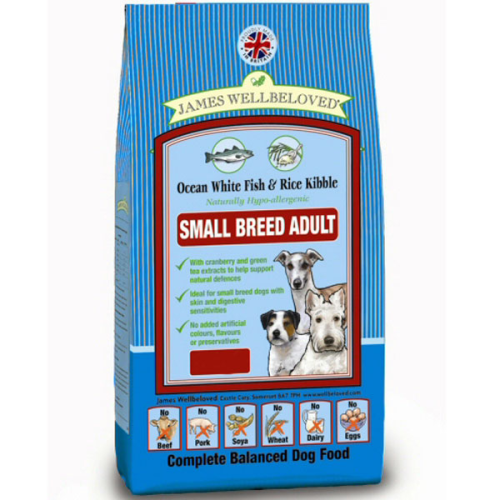 James wellbeloved  Fish and Rice adult small breed  1.5kg