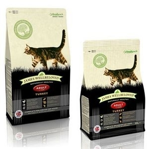 James Wellbeloved Adult cat food turkey 1.5kg