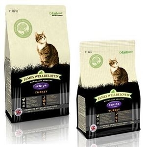James Wellbeloved Adult cat food turkey senior  1.5kg