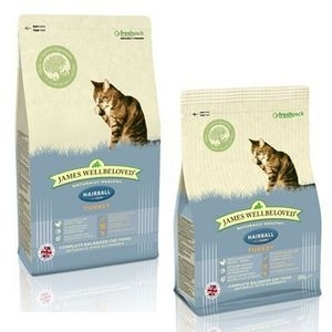 James Wellbeloved Adult Hairball Turkey 1.5kg
