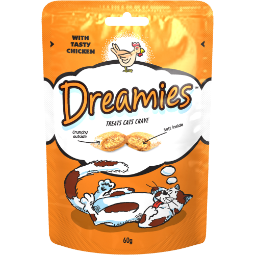 Dreamies Chicken Cat Treats 60g