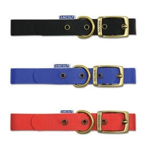 Ancol nylon collars with buckle 12""