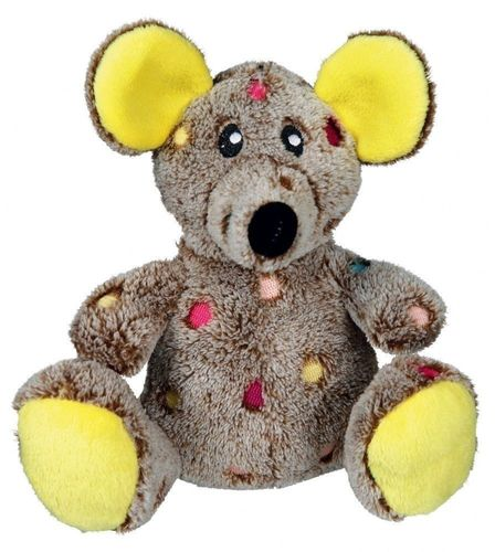 TRIXIE SUPER CUTE & SOFT PLUSH MOUSE DOG PUPPY SQUEAKER TOY 35861 PLAY COMFORTER