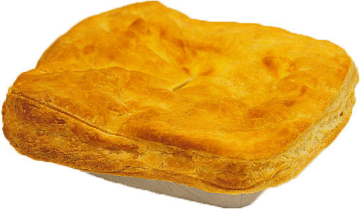 large steak pie - HOME