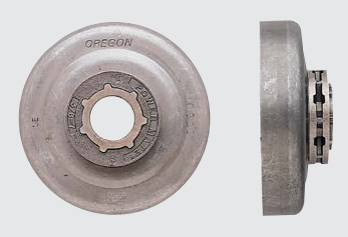 Kupplungsglocke mit Ringrad 1/4 9Z DOLMAR PS-350, 351, 420, 421, 460, 510,  500, 5100, 5105