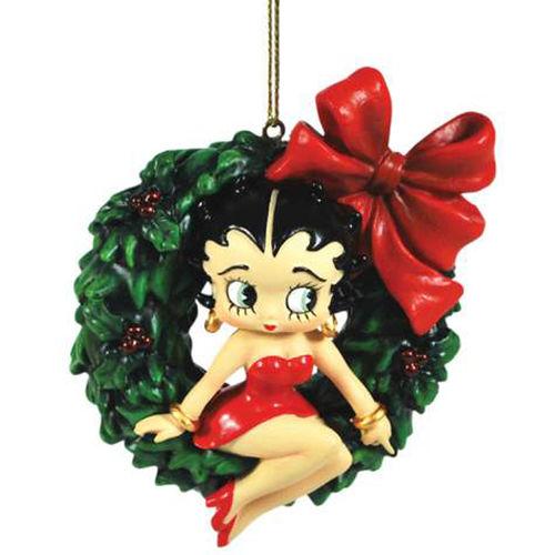 Betty Boop Christmas Tree Ornament